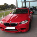 BMW M Red Power